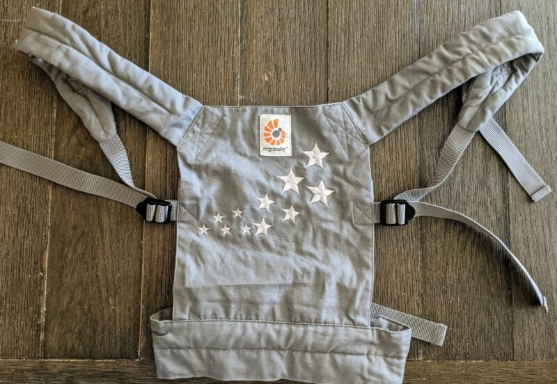 Doll Ergo Baby Carrier Gray