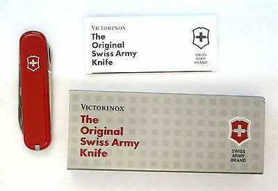 Victorinox Ambassador Swiss Army knife, new in vintage box, scissors screw.