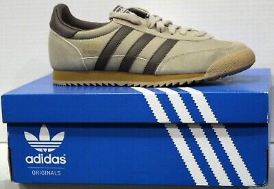 adidas - DRAGON VINTAGE - UK6.5 - Brown Mens Trainers (BB3712)