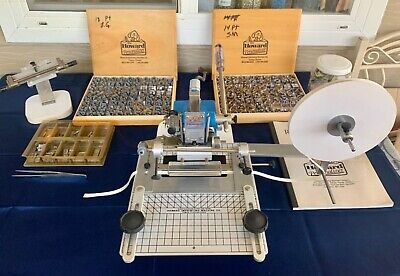 Howard Machine Model 45 Personalizer Accessories Hot Foil Stamping Machine