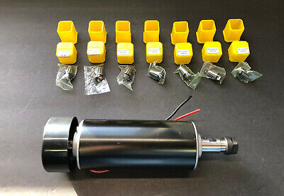 Cnc Spindle 500w Router With Set Of 7 Er11 Spring Collet