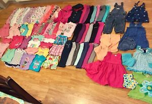 Girls 12m-12 to 18months (83 pieces)