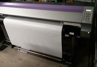 Mimaki Jv33-160 64 Wtake Up Reel Permanent Chips Needs Service 1795