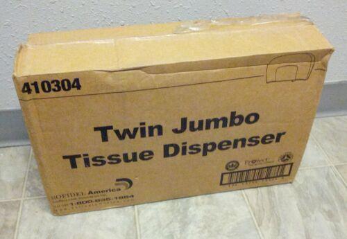 Sofidel 410304 JT209-05 9˝ Twin JBT Jumbo Tissue Dispenser - Black