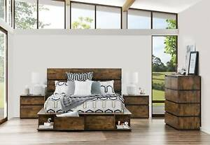 Amart Queen Bed Package Bedford Park Mitcham Area Preview