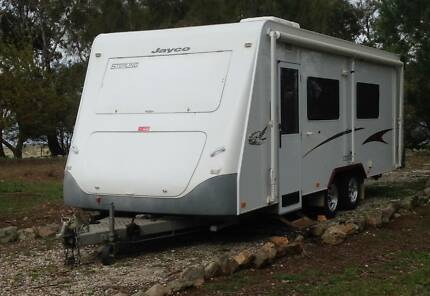2006 22ft Jayco Sterling Caravan with multiple extras included West Lakes Charles Sturt Area Preview