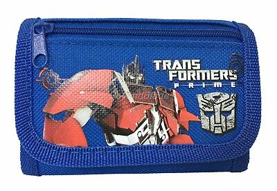Transformers Wallet Blue Children Boys Girls Wallet Kids Cartoon Coin Purse - Girls Transformers