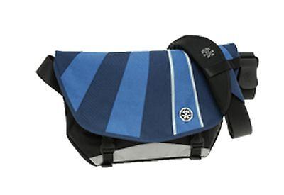Crumpler The Barney Rustle Blanket Messenger Bag (black/navy/royal blue/pale blu