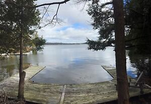 Waterfront Building Lot with Dock. Rideau Canal system