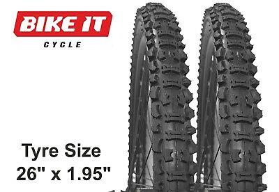 """Air 26x1-3//8 Deestone for Bike 26/"""" /""""R/"""" Trip Fren 2 Black Tires"""