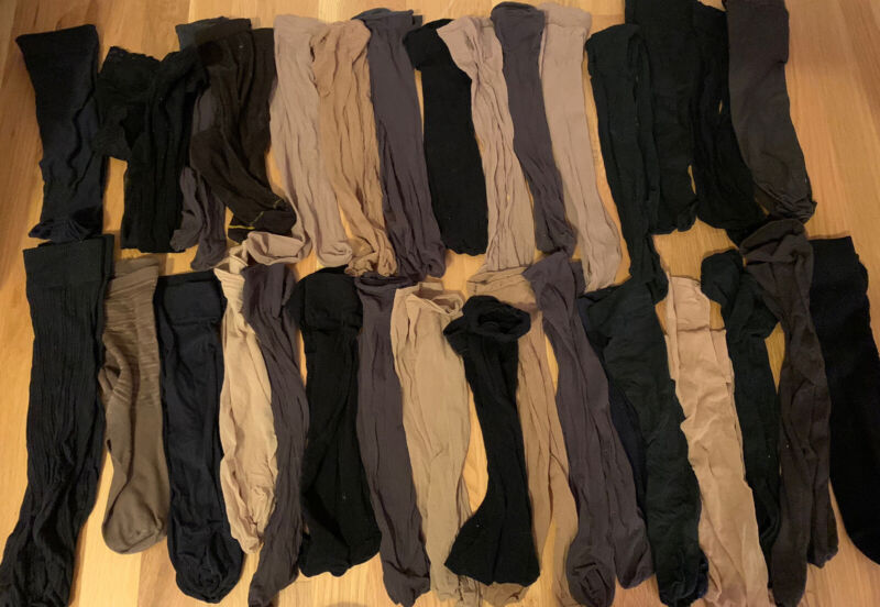 Vintage Lot Of Nylons
