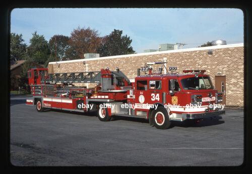 Paxtonia PA 1980/1962 ALF TDA Ex FDNY Ex Philadelphia Fire Apparatus Slide