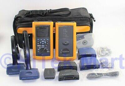 Fluke Dsp-4100-dsp-4100sr Digital Cable Analyzer With Ls-13101550 Laser Source