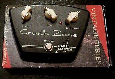 Carl Martin Crush Zone Distortion Guitar Effect Pedal