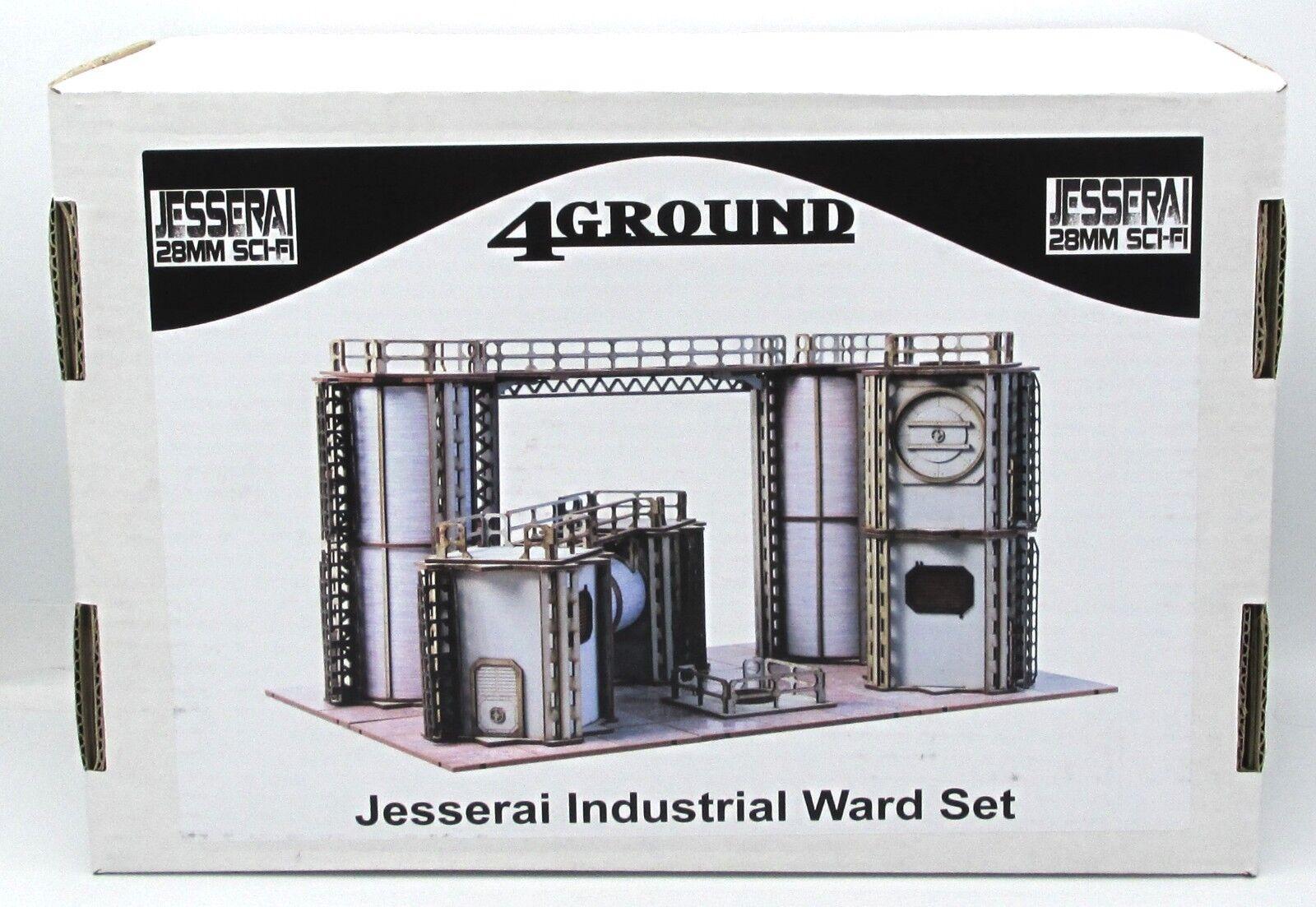 Industrial Terrain Set | Miniset net - Miniatures Collectors