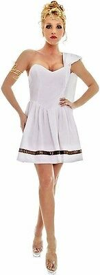SEXY CAESAR'S GIRL ROMAN GREEK GODDESS TOGA HALLOWEEN COSTUME SIZE LARGE 12 - - Girl Goddess Halloween Costumes
