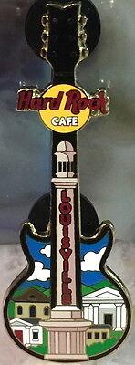Duro Roca Café Louisville 2004 Columna Edificios Guitarra Pin - Hrc Catalog...