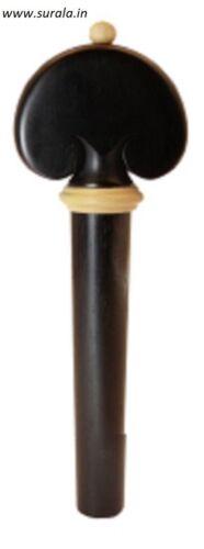 New Violin Pegs Heart Model 34 Piece Ebony wood size 9 -7-45 MM