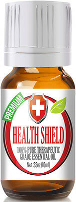 Healing Solutions Health Shield Therapeutic Grade Essential Oil   10 Ml  Hb A H