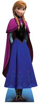 Anna Disney Eiskönigin Lifesize Papp Figur Aufsteller Standup Neu Prinzessin ()