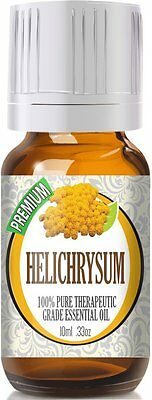 Helichrysum Essential Oil 10ml - 100% Pure Therapeutic Grade Oil