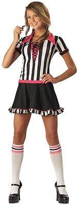 New Juniors size Small Racy Referee Halloween Costume