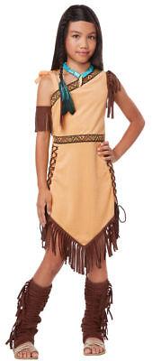 Native American Princess - Pocahontas/Sacagawea Child Costume - Childrens Pocahontas Costume