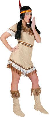 Indianerin Tanzende Eule Damenkostüm NEU - Damen Karneval - Indianer Kostüm Tanzen