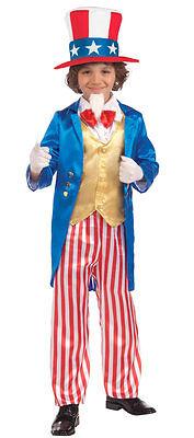 Little Designer Uncle Sam Deluxe Child Costume