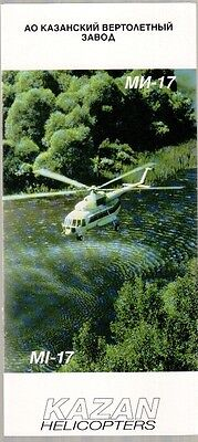 KAZAN HELICOPTERS MI-17 MANUFACTURERS SALES BROCHURE