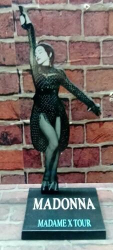 """MADONNA DISPLAY 8"""" STANDEE Figure Statue Cutout Toy Standup Doll Madame Tour cd"""