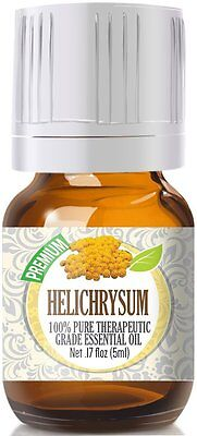 Helichrysum Essential Oil 5ml - 100% Pure Therapeutic Grade Oil