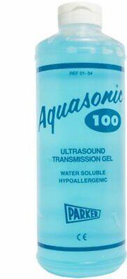 Aquasonic 100 Ultrasound Transmission Gel 1 Liter 01-34 Expiried 092019
