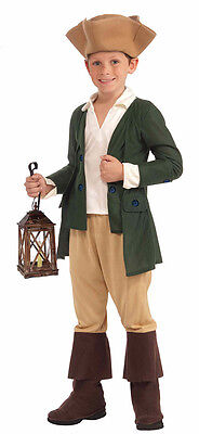 Paul Revere Boy Child's Costume Great for Halloween/School Plays](Great Kids Halloween Costumes)
