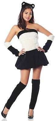 Panda Halloween Costume Women (Panda Babe Costume Women's Sexy Halloween Costume Adult Size)
