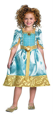 Disney Brave Merida Child Toddler Girls Costume Size 3T-4T](Merida Costume Toddler)