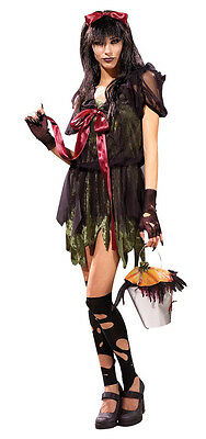 Couples Costumes Scary (Jill Jack Scary Black Fairy Tale Gothic Couples Dress Up Halloween Adult)
