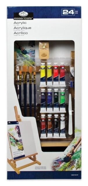 Royal & Langnickel Large Easel Acrylic Professional Painting Set Great Gift Idea