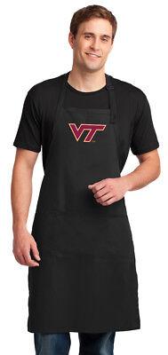 VT Virginia Tech Hokies Apron BBQ Tailgate Grill Bake UNIQUE GIFT
