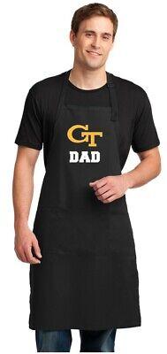Georgia Tech Apron (Georgia Tech Dad Apron GT Apron BEST FATHER'S DAY GIFT )