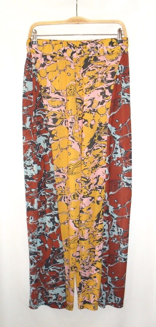 Henrik vibskov - pantalon large & fluide multicolore taille 38/40 - neuf