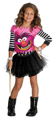 Child Small Girls Animal Costume Dress - The Muppets Costumes for 8-10 years - Muppet Animal Costume