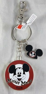 Mickey Mouse Club Charm - Disney Parks Mickey Mouse Club with Mouse Ears Charm Mouseketeer Keychain - NEW