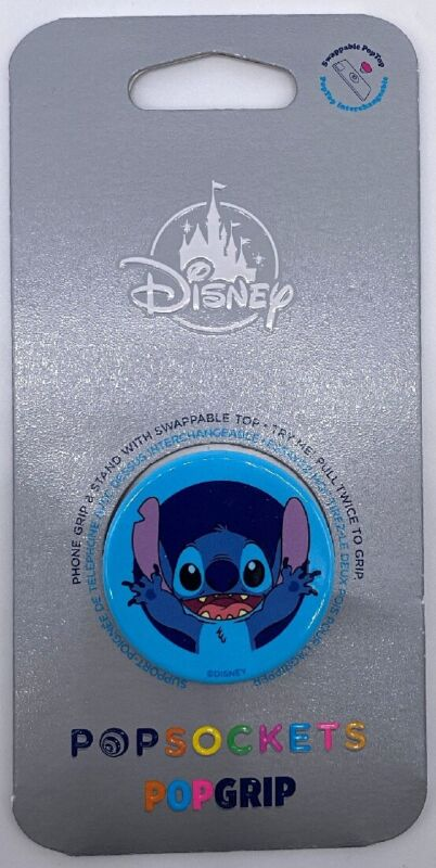 Disney Parks STITCH 626 iPhone PopSocket Pop Grip Stand for Phone