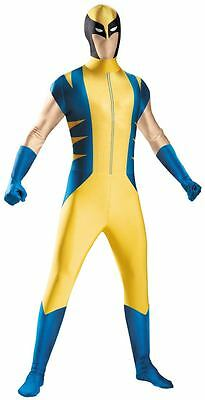 Wolverine Deluxe Adult Bodysuit Marvel Comics Costume 42-46 NWT - 50378 (Wolverine Costume Adults)