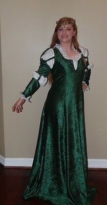 scottish princess  merida  Brave cosplay custom made dress costume sz L-XXL