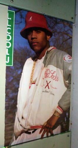 LL COOL J Vintage 1987 RAP POSTER-
