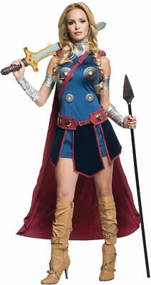 Valkyrie Costume (Valkyrie Deluxe Adult Sexy Superhero Costume Marvel Comics Size Small)