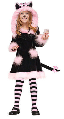Pretty Kitty Costume for Toddler size 3T-4T by Fun World - Kitten Costumes For Toddlers