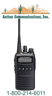 New Vertex Standard Vx 454  Vhf 136 174 Mhz  5 Watt  512 Channel Two Way Radio